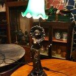 โคมไฟตั้งโต๊ะรหัส7458tl2