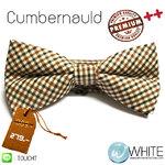 Cumbernauld - หูกระต่าย ลายสก๊อต โทนครีม น้ำตาลวนิลา เส้นเล็ก Premium Quality++ (BT225) by WhiteMKT