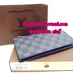 Louis Vuitton Wallets Damier Graphite Canvas Brazza N62665
