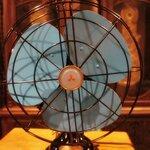 พัดลม mitsubishi table fan รหัส 21157tf2