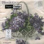 กระดาษแนปกิ้น เดคูพาจ Flower Basket 21370