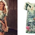 [พร้อมส่งยุโรป H&M] CONSCIOUS เดรสผ้า polyester เนือ้ดี สวย ยาว 86 ซม ไซส์ 36 40
