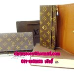 Louis Vuitton Monogram Canvas Porte Organizer M61803 แบบ 2 พับ [หนังแท้]