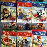 ชุด Lego Chima แบบกล่องตัว ชุดละ 6 ตัว + อาวุธ + การ์ด 2