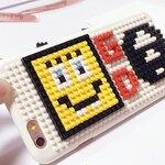 (151-388)เคสมือถือไอโฟน case iphone 6Plus/6S Plus เคสพลาสติกเลโก้ GD