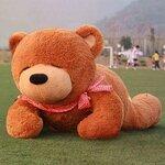 ตุ๊กตาหมีหลับ สีน้ำตาลเข้ม ขนาด 2 m.