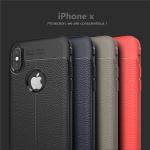 (025-997)เคสมือถือไอโฟน Case iPhone X เคสนิ่มลายหนังแฟชั่นกันกระแทก