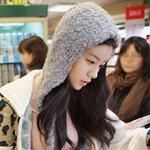 หมวกไหมพรมแฟชั่นเกาหลีพร้อมส่ง ทรงดีไซต์เก๋   หมวกสีเทา ปิดหู แต่งสายยาว2ข้าง