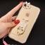(025-979)เคสมือถือไอโฟน Case iPhone7/iPhone8 เคสนิ่มซิลิโคนใสลายหรูติดคริสตัล พร้อมแหวนเพชรวางโทรศัพท์ และสายคล้องคอถอดแยกสายได้ thumbnail 15