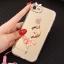 (025-979)เคสมือถือไอโฟน Case iPhone7/iPhone8 เคสนิ่มซิลิโคนใสลายหรูติดคริสตัล พร้อมแหวนเพชรวางโทรศัพท์ และสายคล้องคอถอดแยกสายได้ thumbnail 19