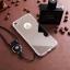 (025-983)เคสมือถือไอโฟน Case iPhone7/iPhone8 เคสนิ่มพื้นหลังแววกึ่งกระจกเรียบหรู พร้อมสายคล้องคอถอดแยกสายได้ thumbnail 6
