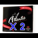 ซื้อ 2 แถม 2 / ซื้อ 2 กล่องใหญ่ แถมฟรี กล่องใหญ่ 2 กล่อง Atlantis แอตแลนติส ผลิตภัณฑ์เสริมอาหาร สำหรับผู้ชาย ยาเพิ่มสมรรถภาพ บำรุงร่างกาย อาหารเสริม ปลุกความเป็นชายในตัวคุณ ผลิตจาก สมุนไพร 100% มี อย. GMP