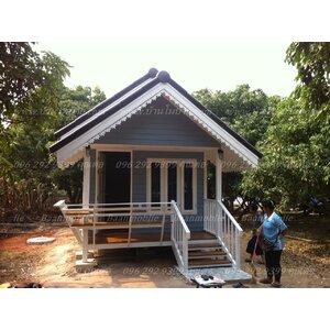 บ้านโมบายขนาด 3*6 เมตรระเบียง 1*3 เมตร ราคา 200,000 บาท