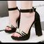 รองเท้าส้นสูง ไซต์ 34-39 สีดำ/แดง/น้ำตาล/ชมพู thumbnail 8