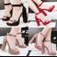 รองเท้าส้นสูง ไซต์ 34-39 สีดำ/แดง/น้ำตาล/ชมพู thumbnail 1