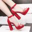 รองเท้าส้นสูง ไซต์ 34-39 สีดำ/แดง/น้ำตาล/ชมพู thumbnail 2