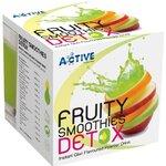ซื้อ 1 แถม 1 แอคทีฟ ฟรุ๊ตตี้ สมูทตี๊ ดีทอกซ์ Active Fruity Smoothies DETOX แบบชงดื่ม สูตรผลไม้รวม กลิ่นกีวี่ ช่วยดีทอกซ์ของเสีย ออกจากร่างกาย