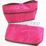 กรเป๋าจัดระเบียบ Bag in Bag สุดฮิต สีชมพูบานเย็น **พร้อมส่ง**