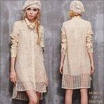 L580242 / S M L / 2015 Fashion dress คัตติ้งเนี๊ยบ พรีออเดอร์เดรสแฟชั่่นงานเกรดยุโรป สวยดูดีมีสไตล์ นางแบบใส่ชุดจริง เป๊ะเว่อร์!