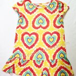 Dress Healthtex Yellow Heart Size 12M, 18M, 24M, 3T