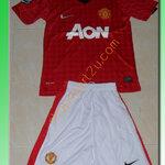 ชุดทีมเหย้า Man United 20121 - 2013