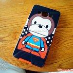 Samsung Galaxy A5 - เคส Face Idea ลายลิง SUPER MAN