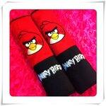 สายคาดเบลท์แบบบาง ลาย Angry Bird#2