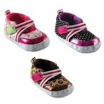 Girl Colorful Print Shoe : รองเท้าพิมพ์ลายสายคาดหน้า