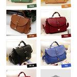 กระเป๋าแบรนเนม AXIXI รหัส A011 สีเขียว, สีแดง, สีน้ำตาล, สีเบจ, สีส้มแคลิฟอร์เนีย, ไพลินสีน้ำเงิน, สีดำ
