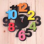 นาฬิกาไม้ Colorful fm30