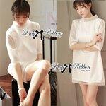 Lady Audrey White Mini Dress