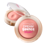 Maybelline Dream Bouncy blush #Rose Petal ที่ปัดแก้มเนื้อครีมมูส สีชมพูอ่อน