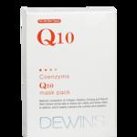 DEWINS Q10 Coenzyme Q10 Mask Pack ช่วยยกกระชับผิวหน้า ชะลอริ้วรอย เพื่มความชุ่มชื่น ลดรอยหมองคล้ำ เราขายเป็นชิ้นละ