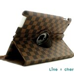 Louis Vuitton 360 Rotating Leather for Ipad Air 2