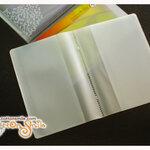 ไส้พลาสติกใส่สมุดบัญชีธนาคาร (ขนาด 21x15ซม)