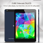 "Cube Octa Core TALK79 7.9""Retina RAM 2GB 3G โทรได้ GPS กล้อง 8MP"