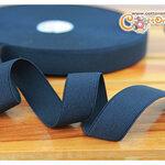 ยางยืด (elastic) สีดำ ขนาด 1 นิ้ว