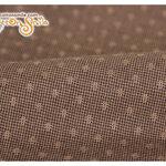 ผ้าทอญี่ปุ่นลายสีน้ำตาล (ขนาด 45x55ซม)