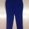 เอว36-38 แบรนด์ PUNT&ROMA กางเกงคนอ้วน cotton&spandex ยืดได้เนื้อเบาสบาย สีน้ำเงินกรม