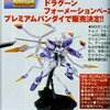 รอบ2 Pre-Order P-Bandai: Stand Display Clear Blue Spcial for MG 1/100 MS Gundam Astray Blue Frame D 4800y มัดจำ 500บาท