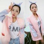 jacket สีพาสเทลน่ารักสไตล์เกาหลี [ขายส่ง460.-]