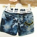 กางเกงยีนส์ขาสั้น Batman