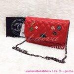 กระเป๋าแบรนด์ Chanel classic bag รุ่นเข็มกลัด ขนาด 9 นิ้ว (5A)