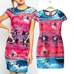 Dress print view ASOS [ขายส่ง600.-]