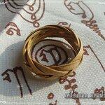 แหวนตะกร้อ พิรอดนิ้ว ถักจากหวายมหาปราบ