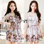 Must have item!! Don't miss ladies! Lady Ribbon's Made Lady Hannah Sweet Floral Dress Set