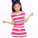 ขายส่งชุดกระโปรงเด็กหญิง size(110-150) kk55-130