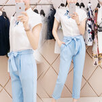 เสื้อผ้าแฟชั่นสไตล์เกาหลี มีขายแยกทั้งเสื้อ กระโปรง และทั้งเซต มีถึงไซส์XL [ขายส่ง250-650.-*]