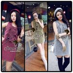Chill Out Glitter Dress by Seoul Secret