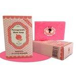 สบู่กลูต้าทับทิม  Pomegranate Gluta Soap